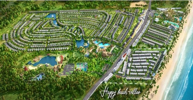 Happy Beach Villas Novaworld Hồ Tràm